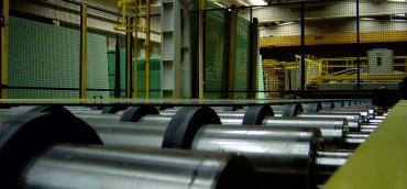 Conveyor glass