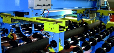 Cutting breacking glass line