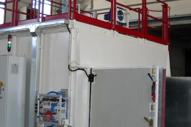 Bag furnace for AGR