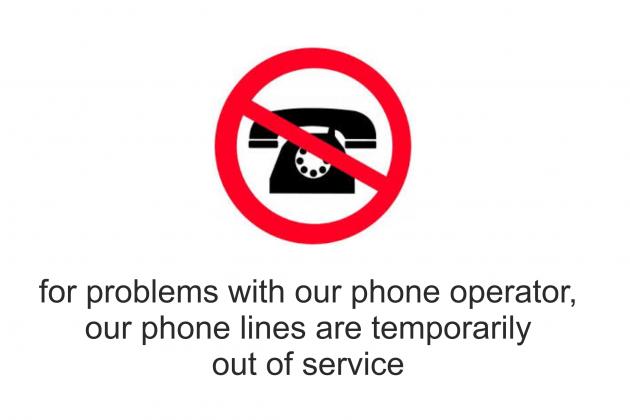 telephon down