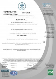 IOCCO Engineering consulting, quality assurance