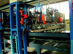 spacer application glass pack iocco srl