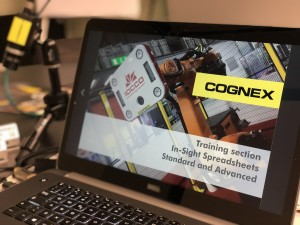 COGNEX training section for IOCCO
