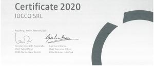 IOCCO system partner KUKA 2020